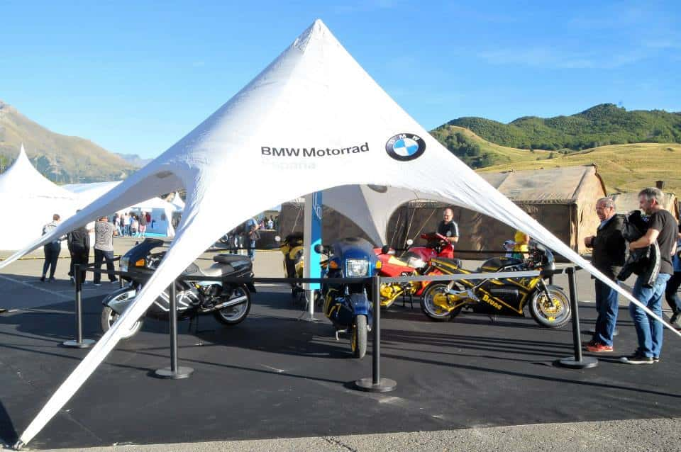 MOÑITA lona en BMW Riders 2014
