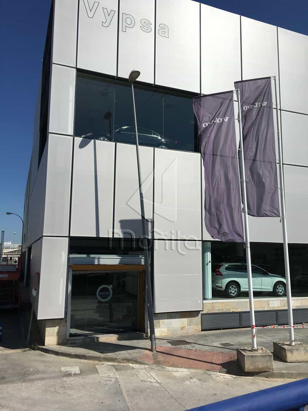 fMOÑITA fachada textil concesionario