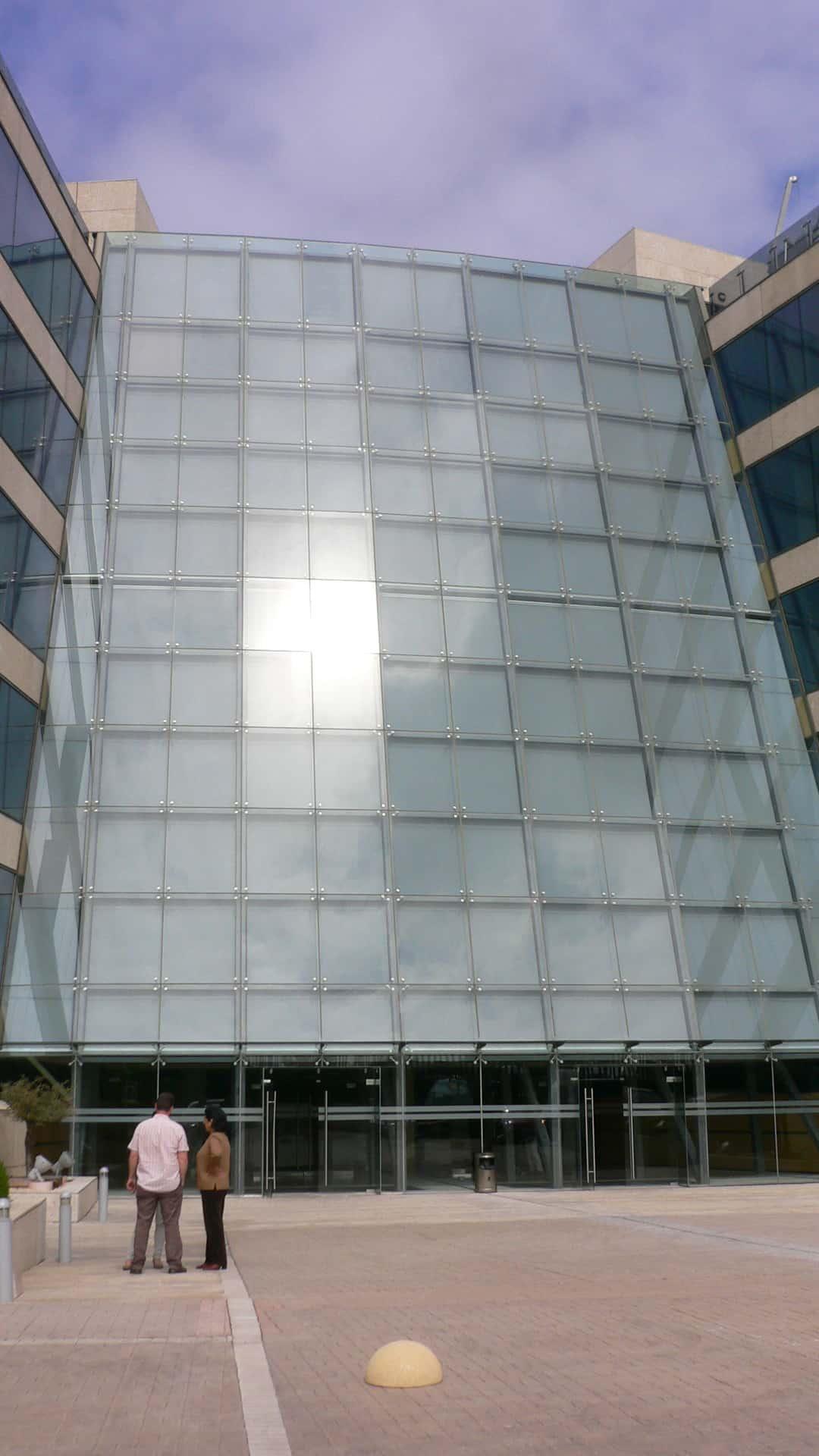 MOÑITA fachada con lona