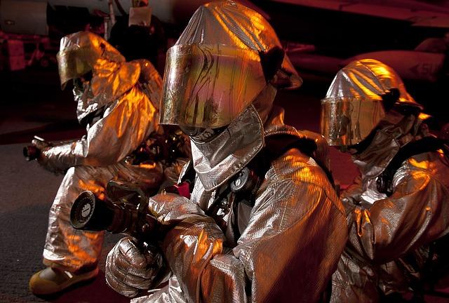 El tejido ignífugo puede ser utilizado en aquellas profesiones que dispongan de una gran exposición al calor.
