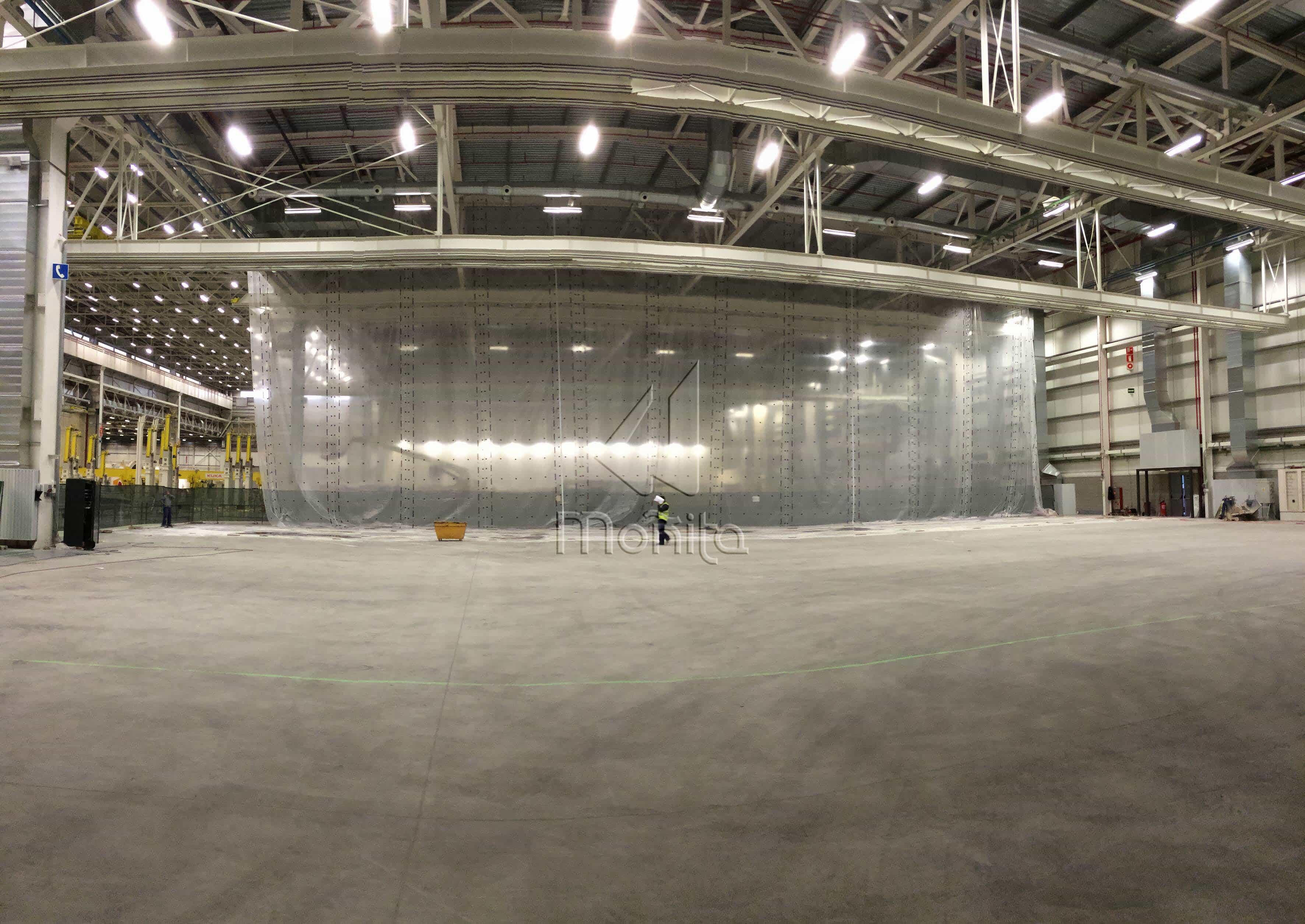 Trabajo de separación de naves para Airbus