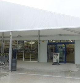 Toldos Moñita - Carpa industrial